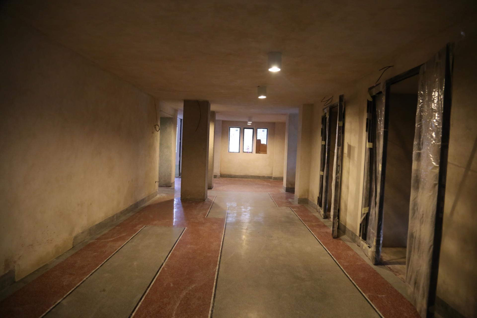 Synagóga v Žiline, teraccová podlaha po reštaurovaní