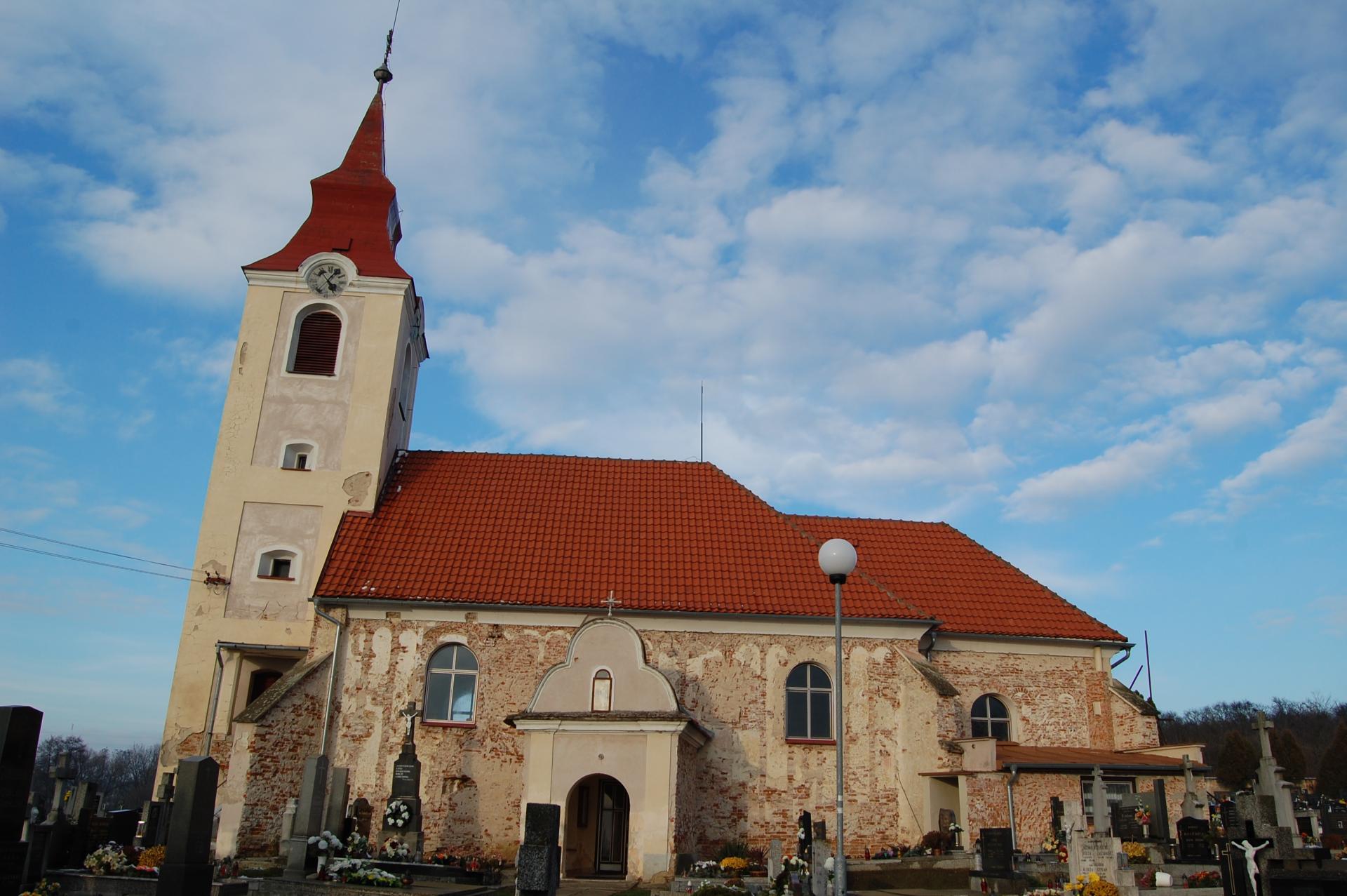 Kostol sv. Alžbety, stav pred reštaurovaním, južná fasáda